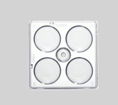 4 Well Cluster Dish